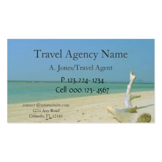 Travel Agency Pack Of Standard Business Cards