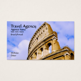 Travel Agenecy Business card. Business Card