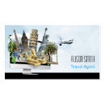 Travel Agent Tarjeta De Visita