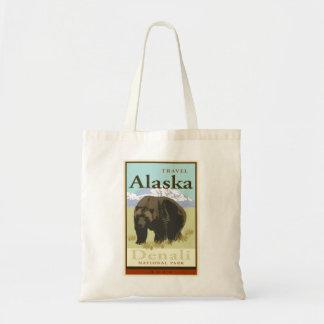 Travel Alaska Tote Bag