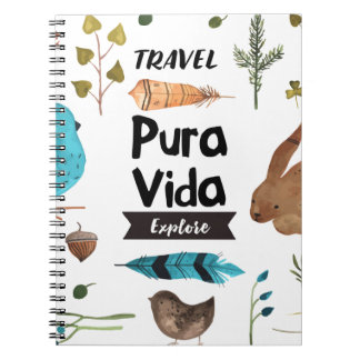 Travel and explore watercolour notebooks