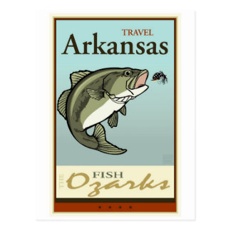 Travel Arkansas Postcard