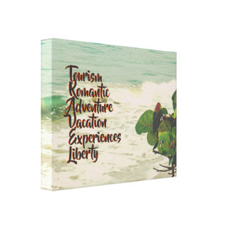 Travel Art Canvas Print