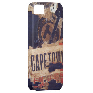 Travel baggage Stickers Tags Labels - Grunge Tex iPhone 5 Cover