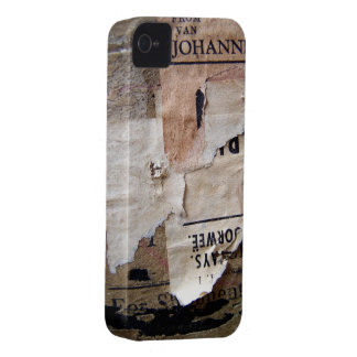 Travel baggage Stickers Tags & Labels - Grunge Tex iPhone 4 Cover