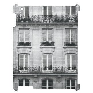 Travel | Black and White Vintage Building In Paris Case For The iPad 2 3 4