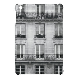 Travel | Black and White Vintage Building In Paris iPad Mini Case