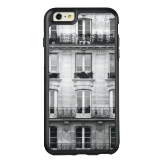 Travel | Black and White Vintage Building In Paris OtterBox iPhone 6/6s Plus Case