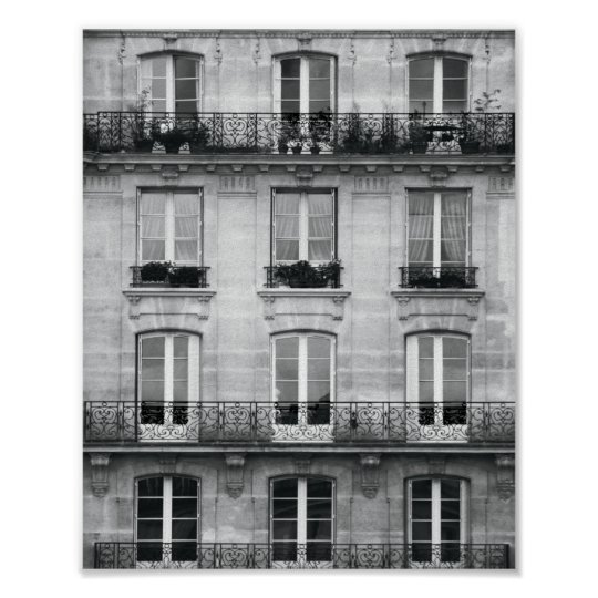 Travel | Black and White Vintage Building In