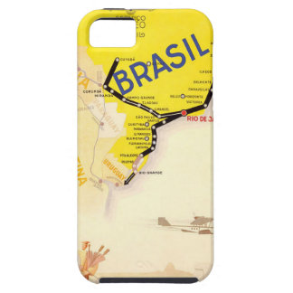 Travel Brasil Brazil By Airplane iPhone 5 Cover