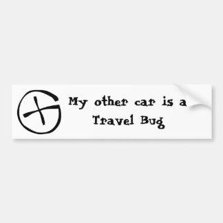 Travel Bug Bumper Sticker