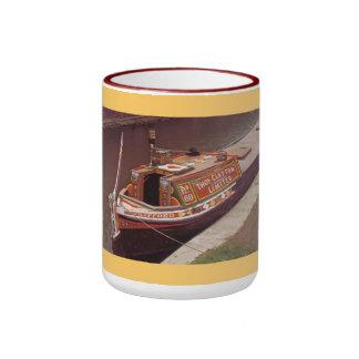 Travel by narrow boat ringer mug