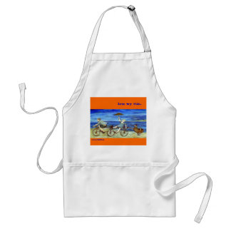 Travel by Tandem Bicycle Apron