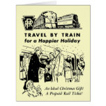 Travel By Train-Pennsylvania Railroad Greeting Cards