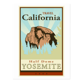 Travel California Postcard