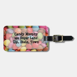 travel candy bag tag