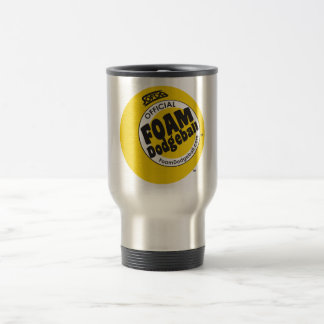 Travel Coffee Mug - Dodgeball Logo