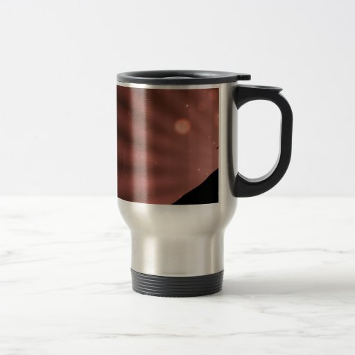 Travel/Commuter Mug - Red Starburst