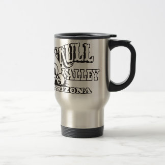Travel/Commuter Mug w/ Skull Valley, Arizona Logo