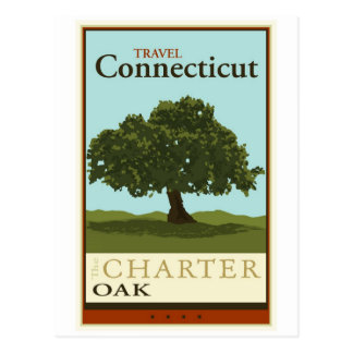 Travel Connecticut Postcard