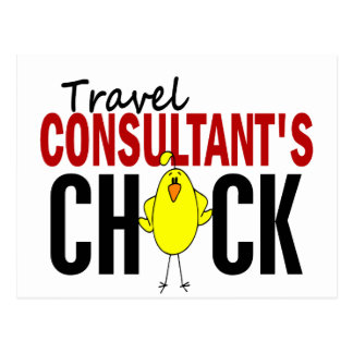 Travel Consultant s Chick Post Cards