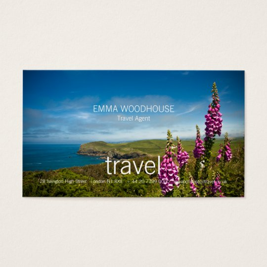 Travel - Cornwall Business Card