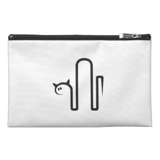 Travel cultural bags with cat travel accessories bags