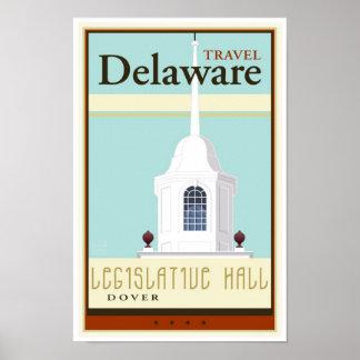 Travel Delaware Poster