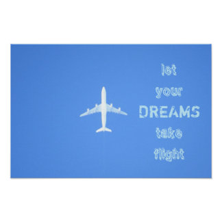 Travel Dreams Quote Poster