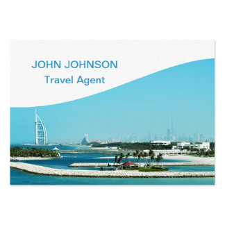 Travel Dubai Business Card Chubby Business Cards