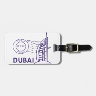 TRAVEL DUBAI LUGGAGE TAG