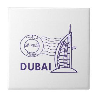 TRAVEL DUBAI SMALL SQUARE TILE