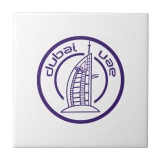 TRAVEL DUBAI UAE SMALL SQUARE TILE