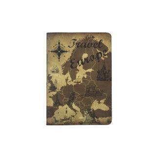 Travel Europe Passport Cover