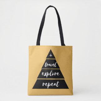 Travel - Explore - Repeat Tote Bag