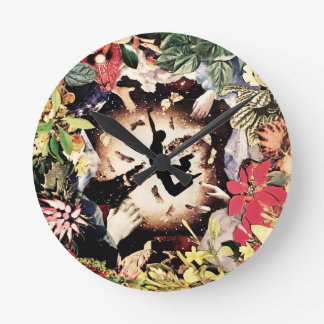 Travel fetched wild duck stretched round clock