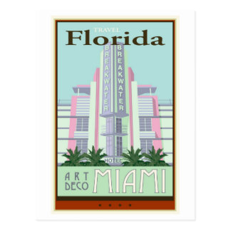 Travel Florida Postcard