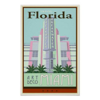 Travel Florida Poster