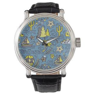 Travel Fun Wristwatch