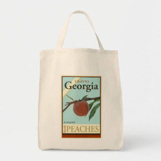 Travel Georgia Grocery Tote Bag