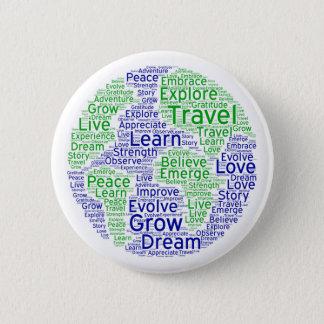Travel Globe Pin