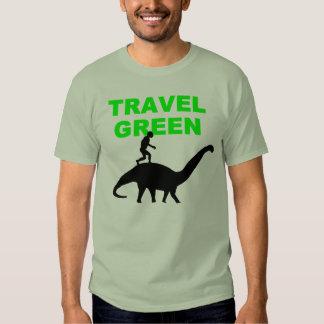 TRAVEL GREEN T-SHIRT