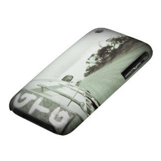 Travel GTG green and black landscape dirt road sky iPhone 3 Case