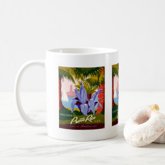 Travel, Historical, Discover Puerto Rico Coffee Mug