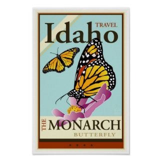 Travel Idaho Poster