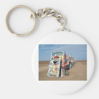 Travel Images Basic Round Button Key Ring