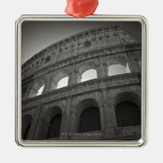 Travel images of Rome Silver-Colored Square Decoration