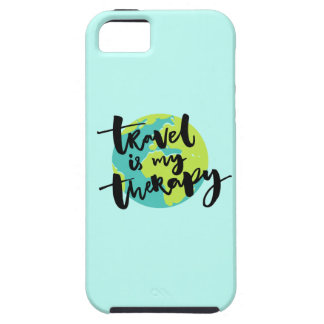 Travel is my Therapy iPhone 5 Covers