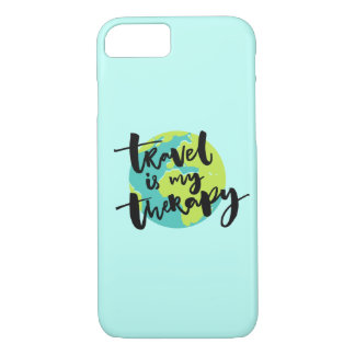 Travel is my Therapy iPhone 7 Case