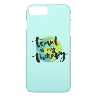 Travel is my Therapy iPhone 7 Plus Case